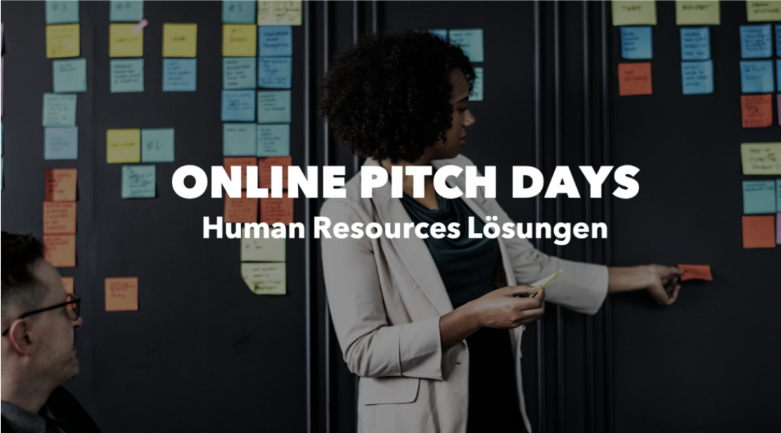 ONLINE PITCH DAY: Human Resources Lösungen