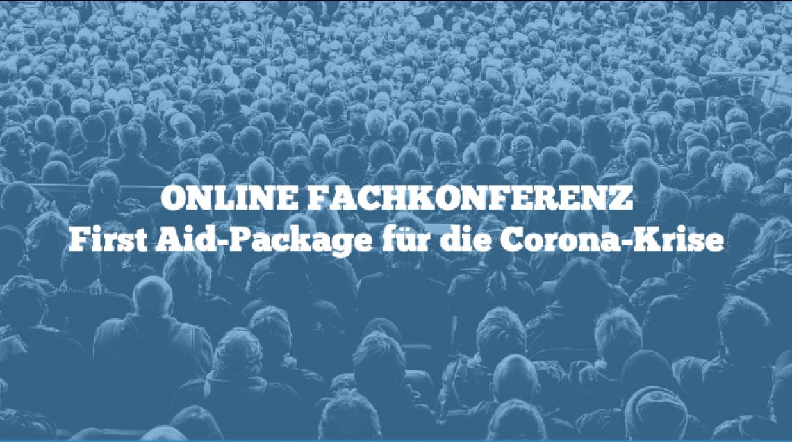 """First Aid-Package"" für die ""Corona-Krise"""