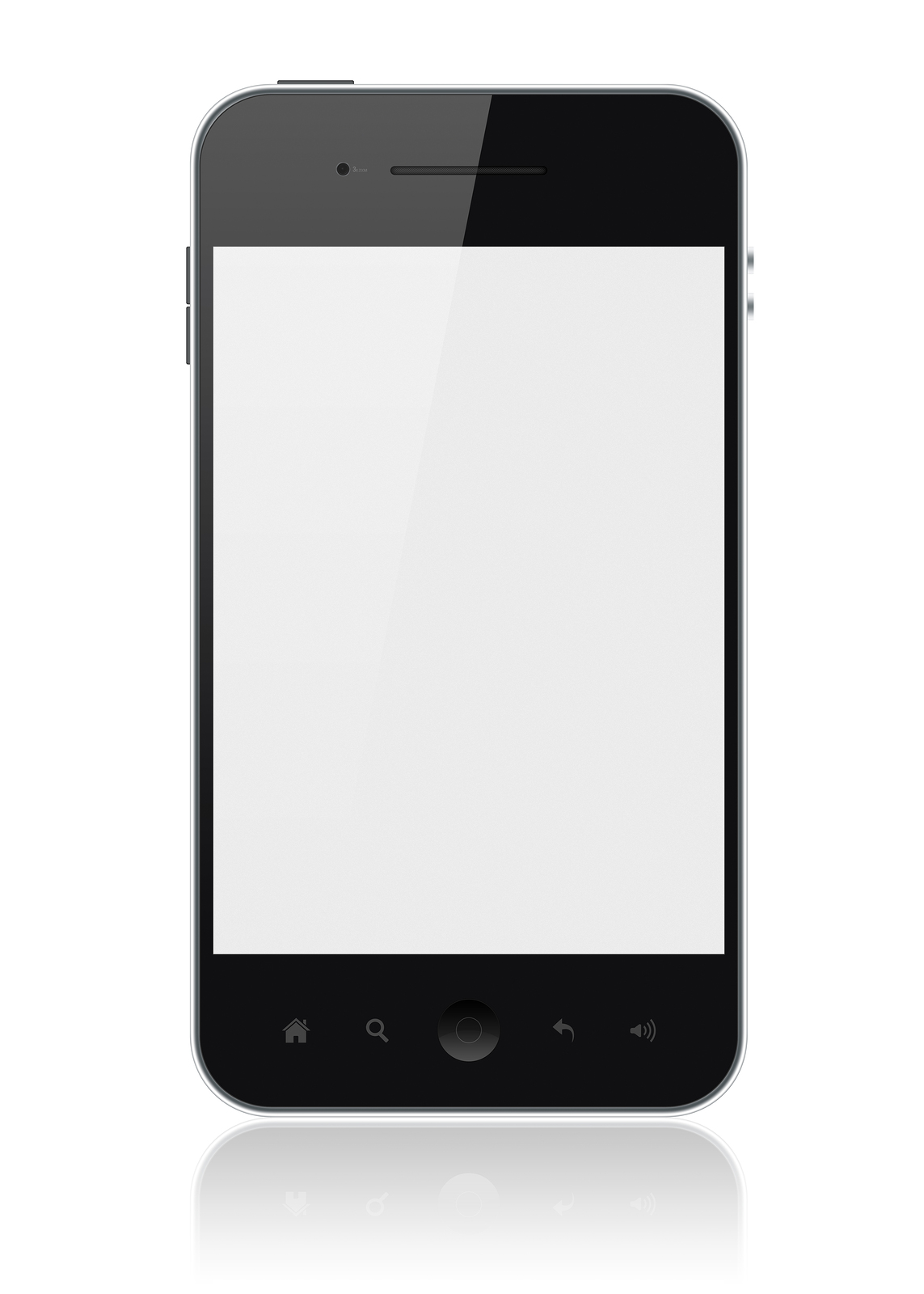 bigstock-Apple-Iphone-With-Blank-Screen-29625881