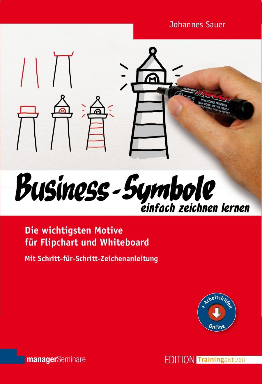 Business-Symbole einfach zeichnen lernen. Mit einfachen Schritten ...